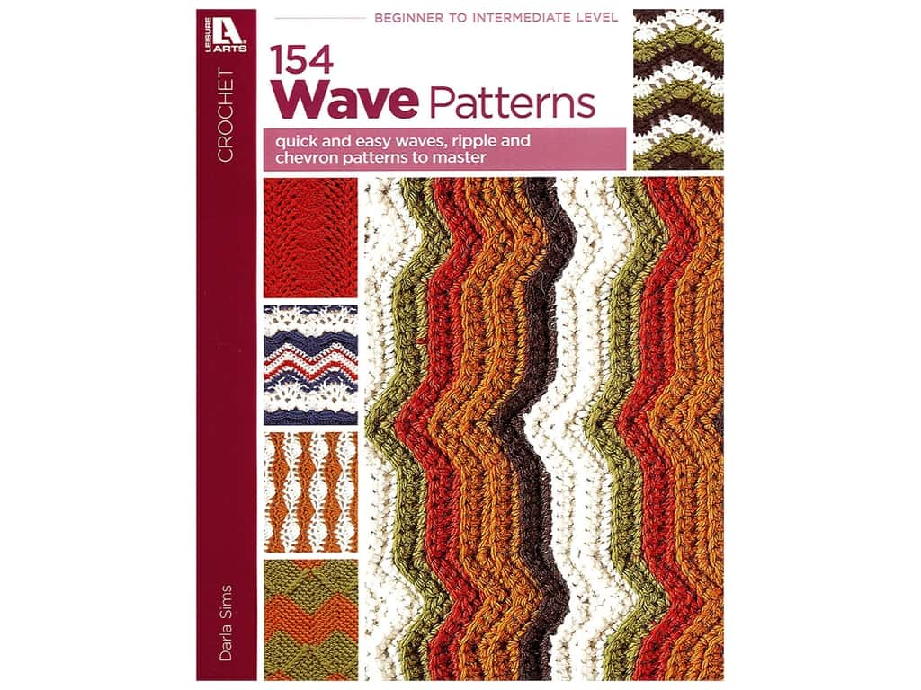 Leisure Arts 154 Wave Pattern Book