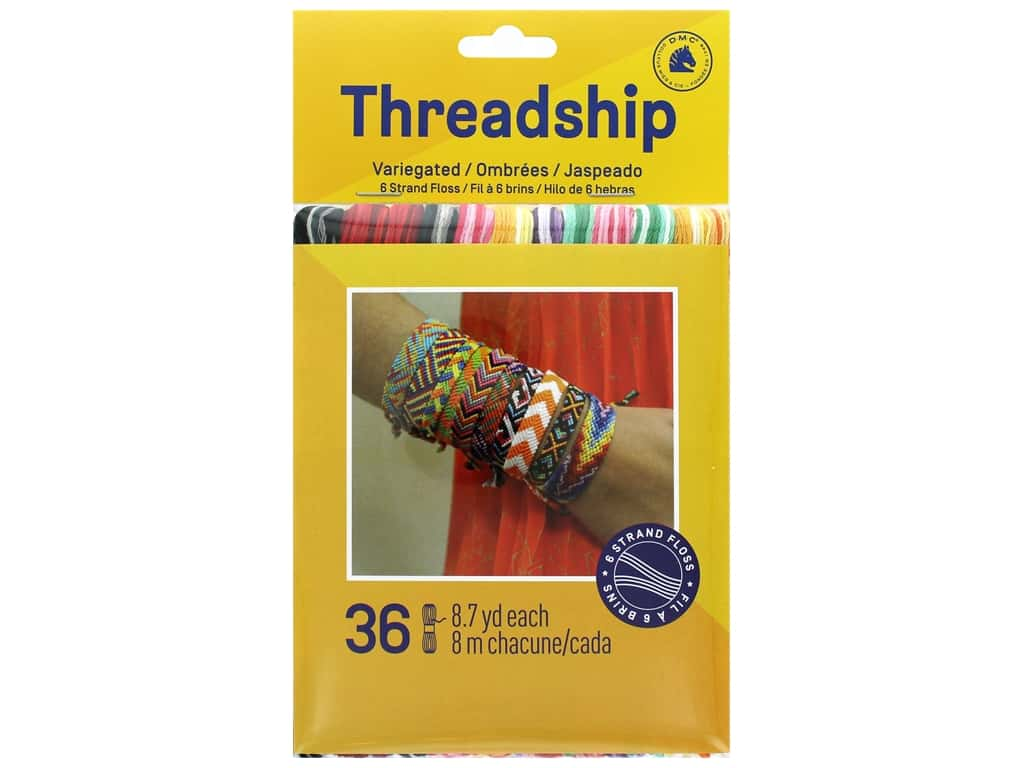 Prism Six Strand Embroidery Floss Pack 36 pc. Divas