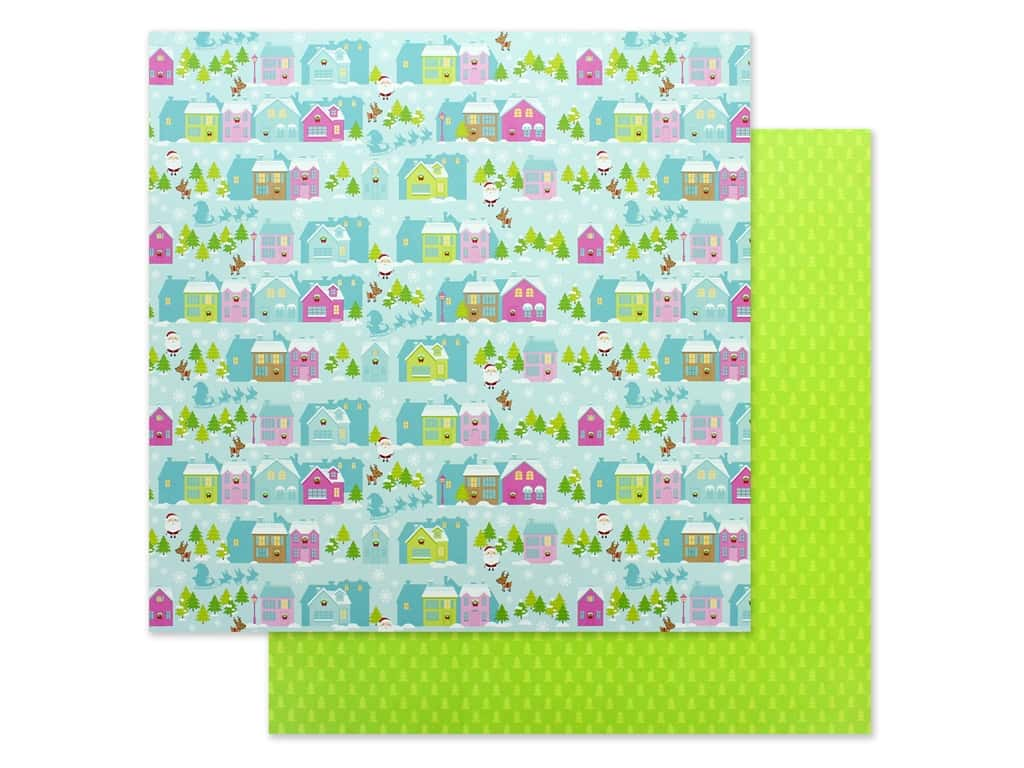 """Doodlebug Night Before Christmas Paper 12""""x 12"""" Night Before Christmas (25 pieces)"""
