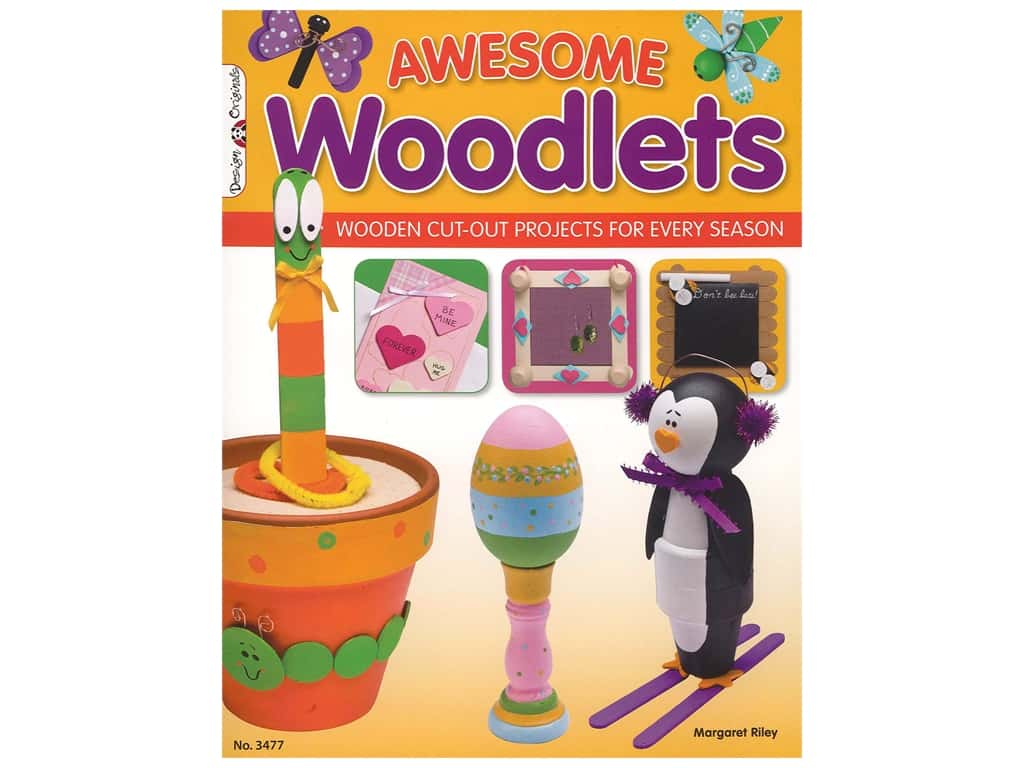 Awesome Woodlets Book