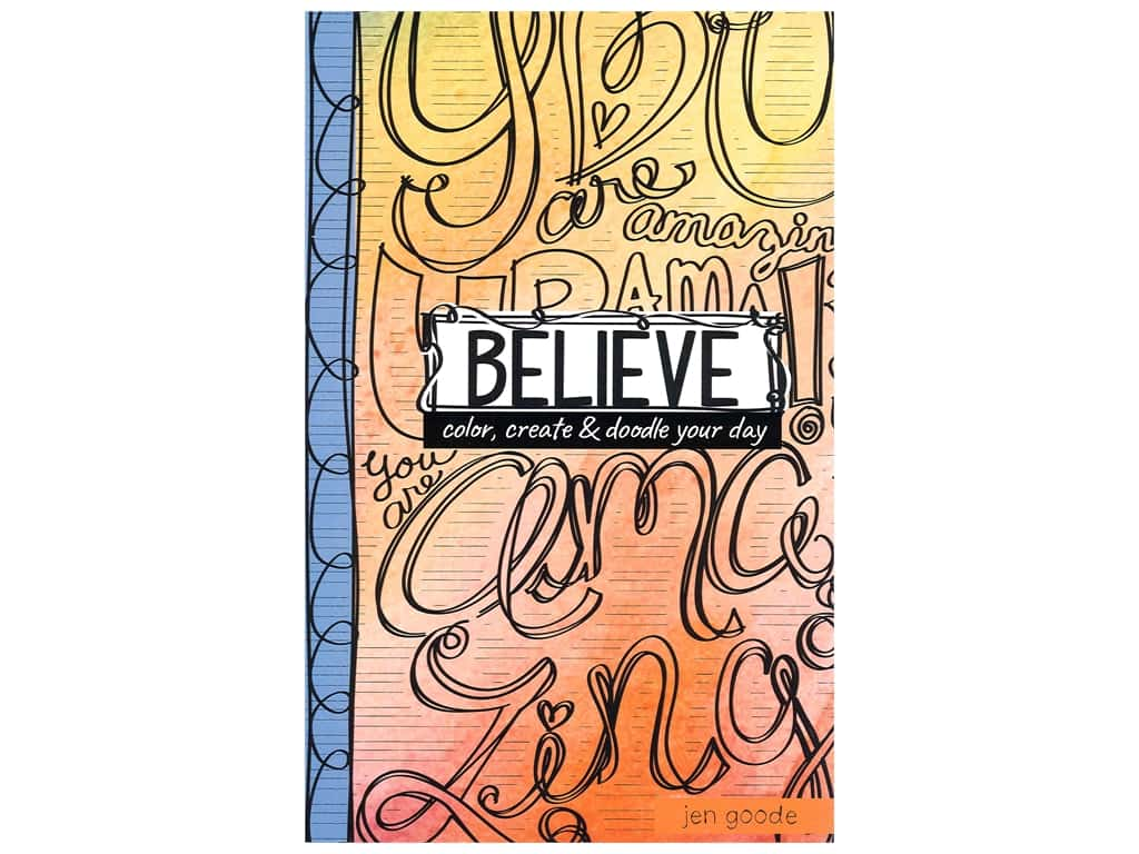 Believe: Color, Create & Doodle your Day Book