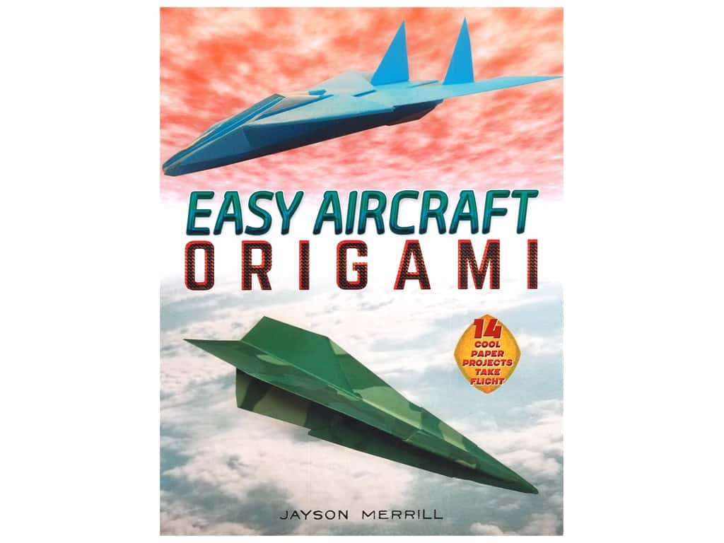 Dover Publications Easy Aircraft Origami Book