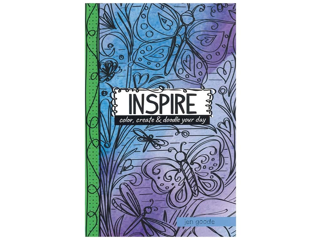 Inspire: Color, Create & Doodle your Day Book