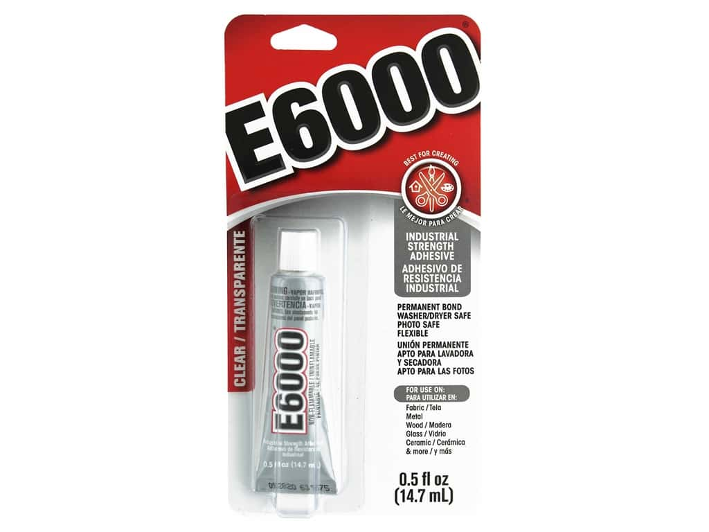 Eclectic E6000 Adhesive .5 oz. Clear
