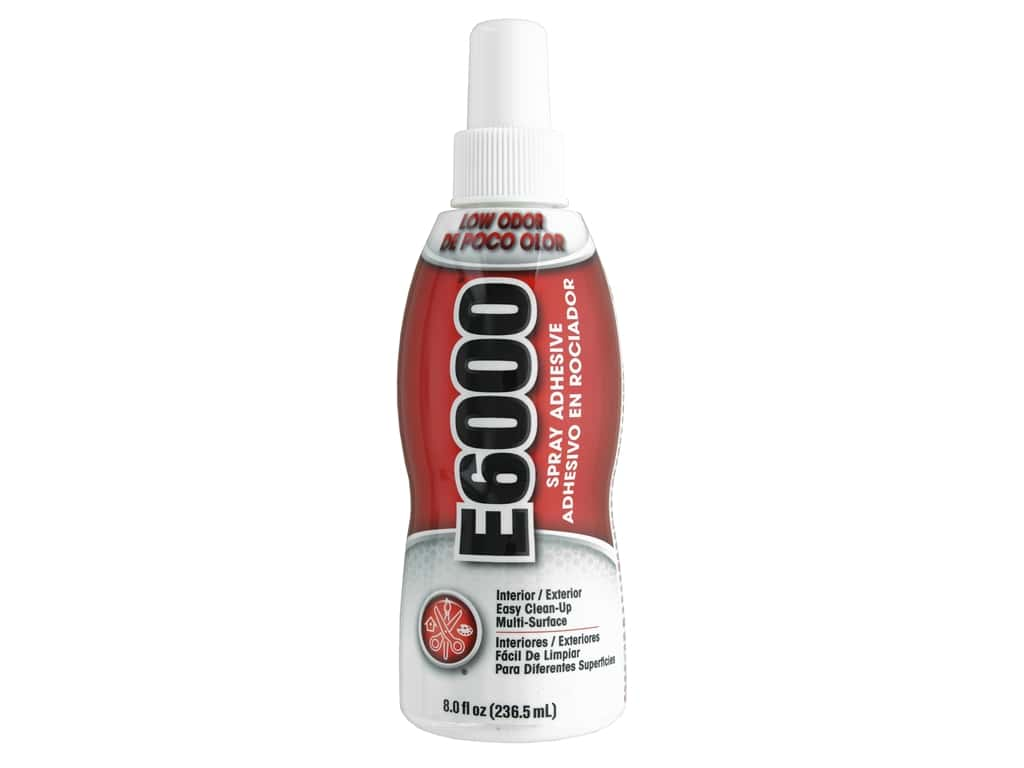 Eclectic E6000 Spray Adhesive 8 oz.