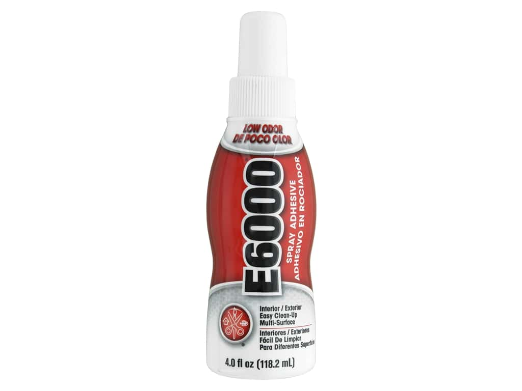 Eclectic E6000 Spray Adhesive 4 oz.