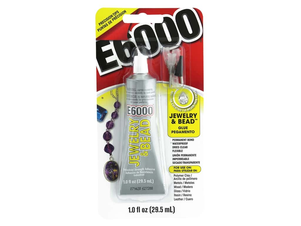 Eclectic E6000 Jewelry & Bead Adhesive 1 oz.
