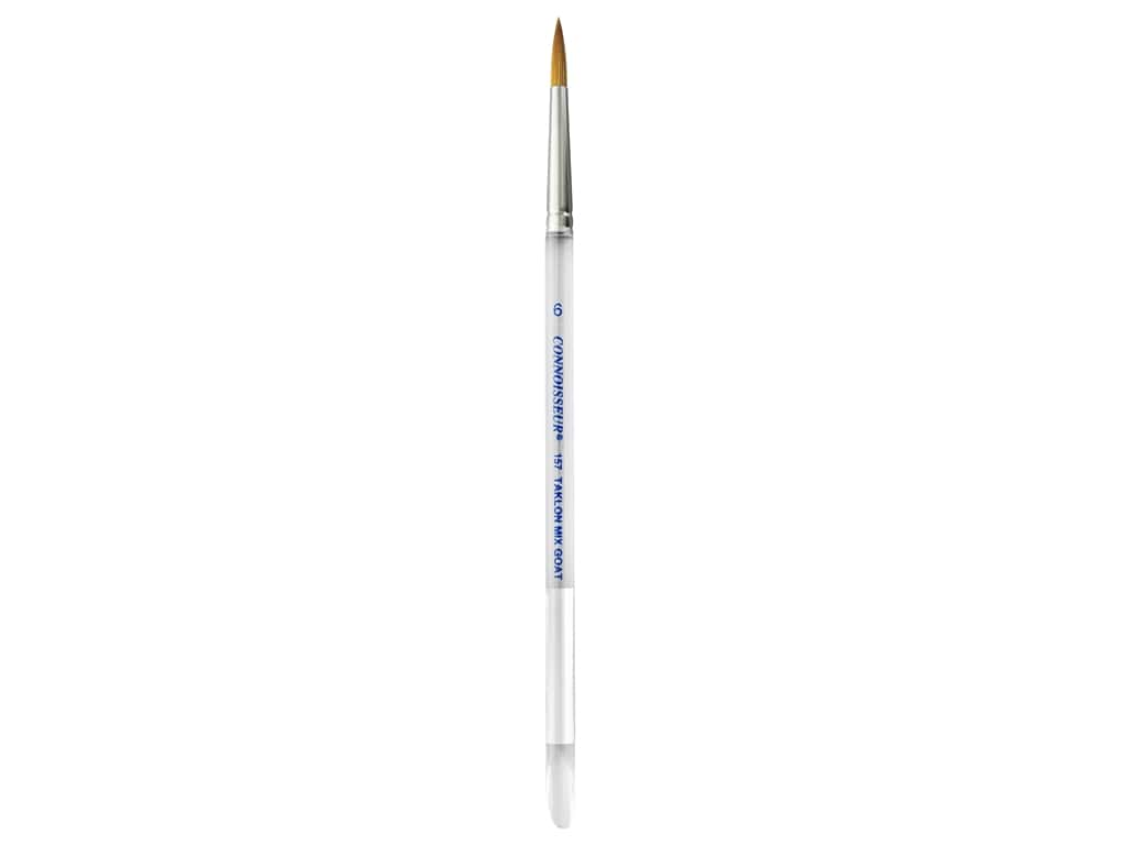Connoisseur Gold Taklon Colossal Brush Round #6
