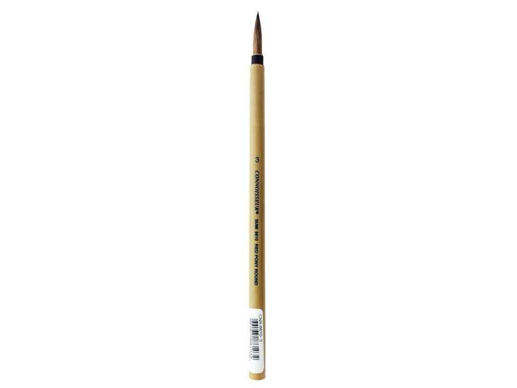 Connoisseur Bamboo Watercolor Brush #3