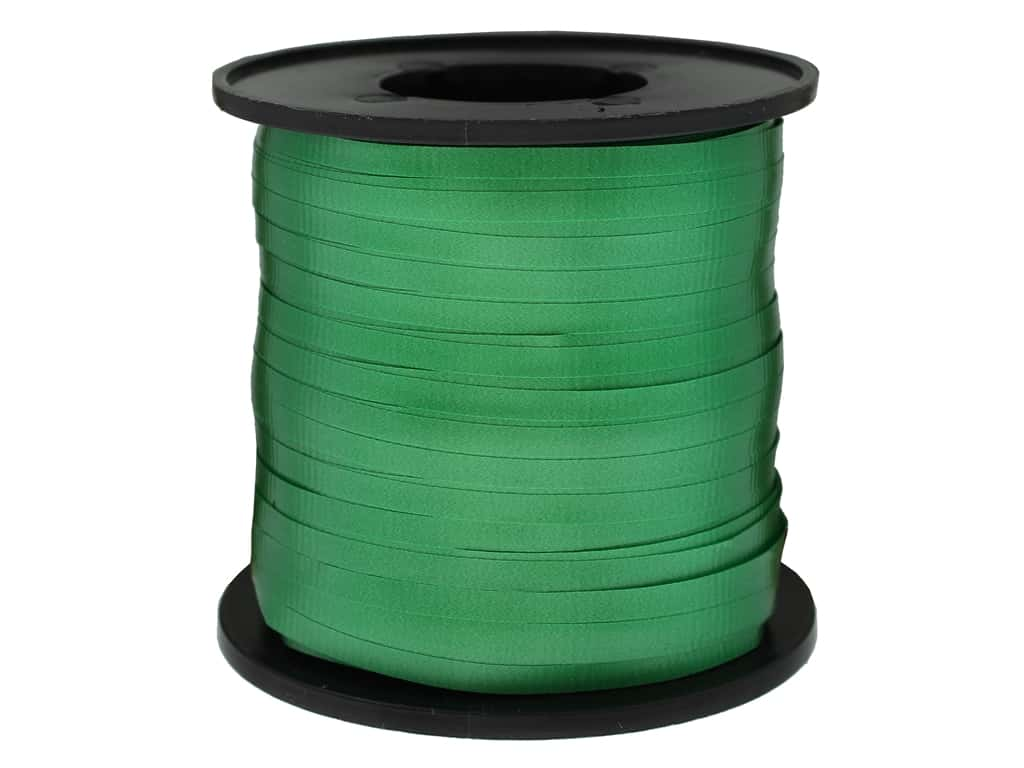 Unique Curling Ribbon Emerald Green 500yd
