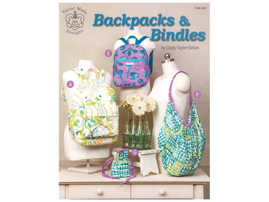Taylor Made Designs Backpacks & Bindles Book