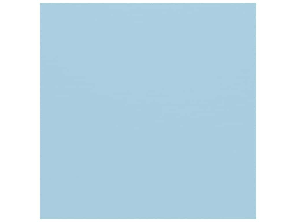 American Crafts 12 x 12 in. Cardstock - Textured Lagoon (25 sheets)
