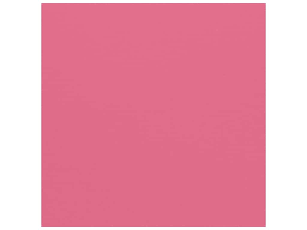 American Crafts 12 x 12 in. Cardstock - Textured Begonia (25 sheets)