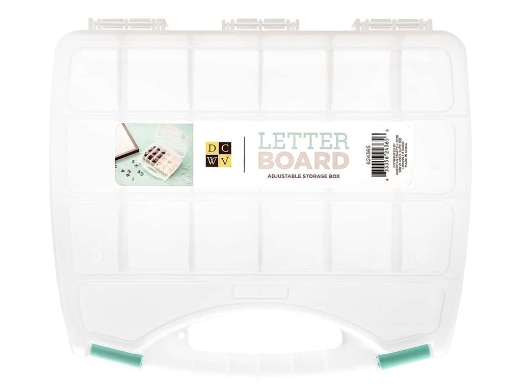 DieCuts With A View With A View Letterboard Storage Box