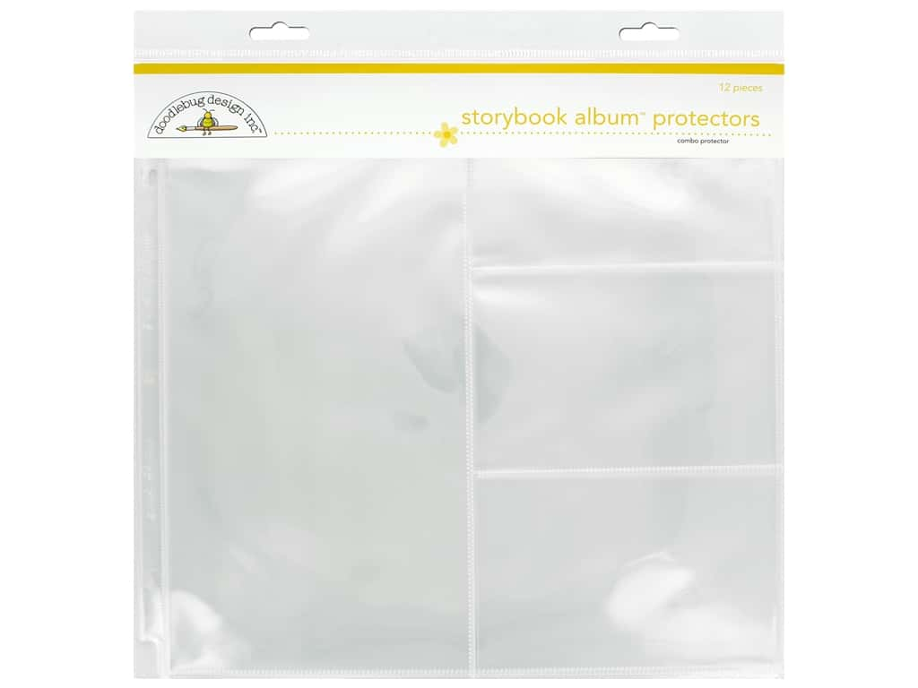Doodlebug Storybook Album Protector 12 in. x 12 in. Combo Photo 12 pc