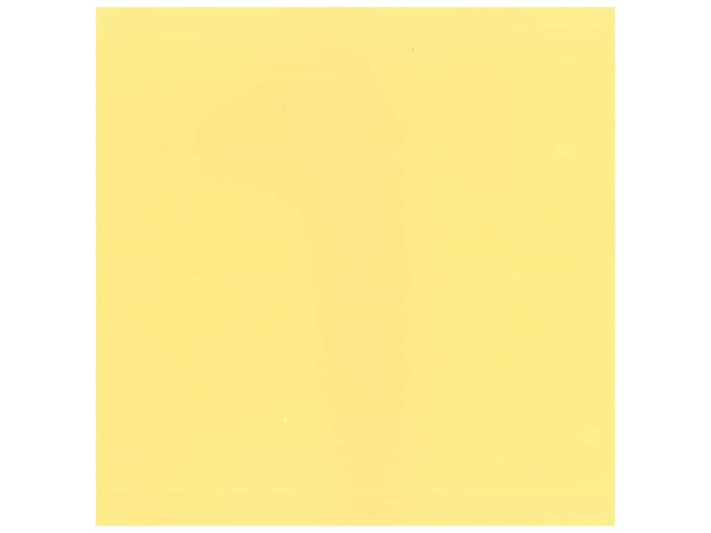American Crafts 12 x 12 in. Cardstock - Textured Butter (25 sheets)