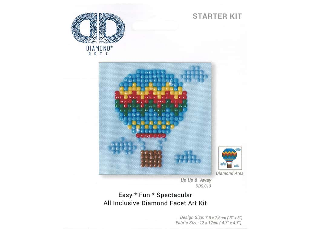 Diamond Dotz Starter Kit - Up Up & Away