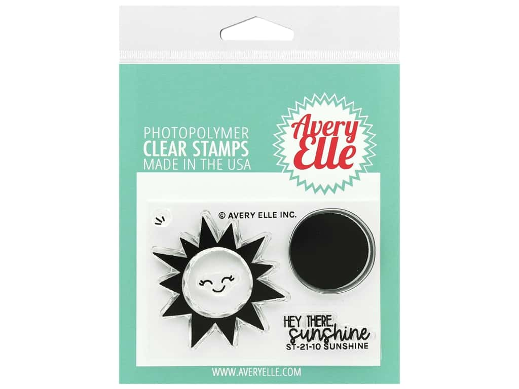 Avery Elle Clear Stamps - Sunshine