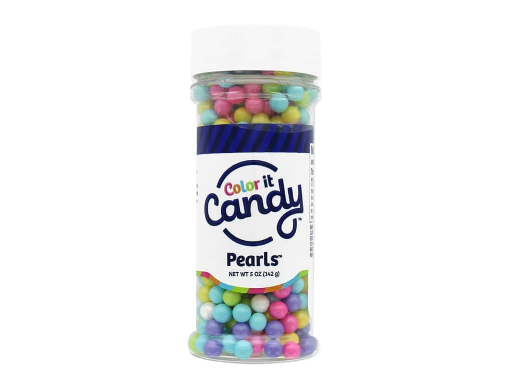 Color it Candy Pearls - Shimmer Spring Mix 5 oz.