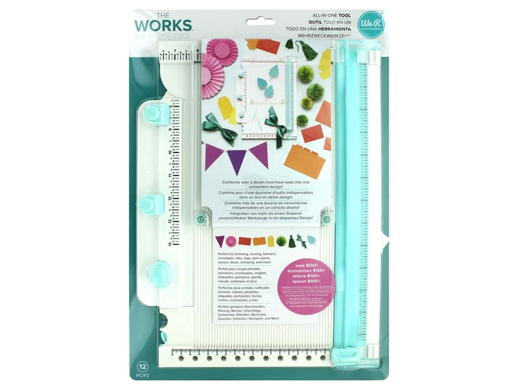 We R Memory Keepers The Works All-In-One Tool