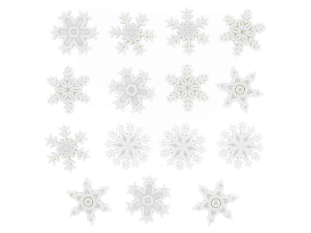 Jesse James Embellishments - Snow