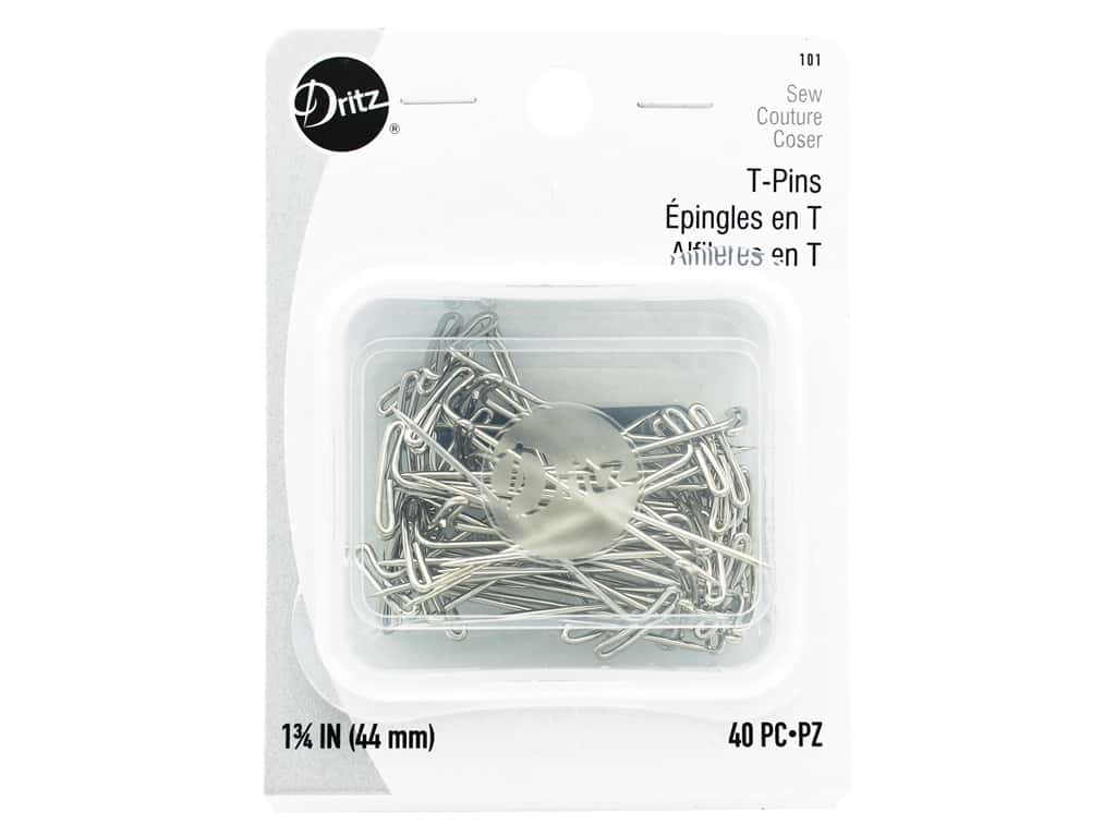 Dritz T-Pins - 1 3/4 in. 40 pc.