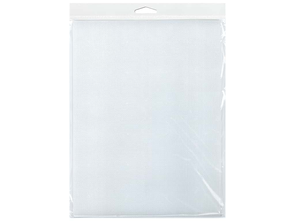 Essentials By Leisure Arts 14 Mesh Plastic Canvas - 8 1/4 x 11 in. Clear 6 pc.