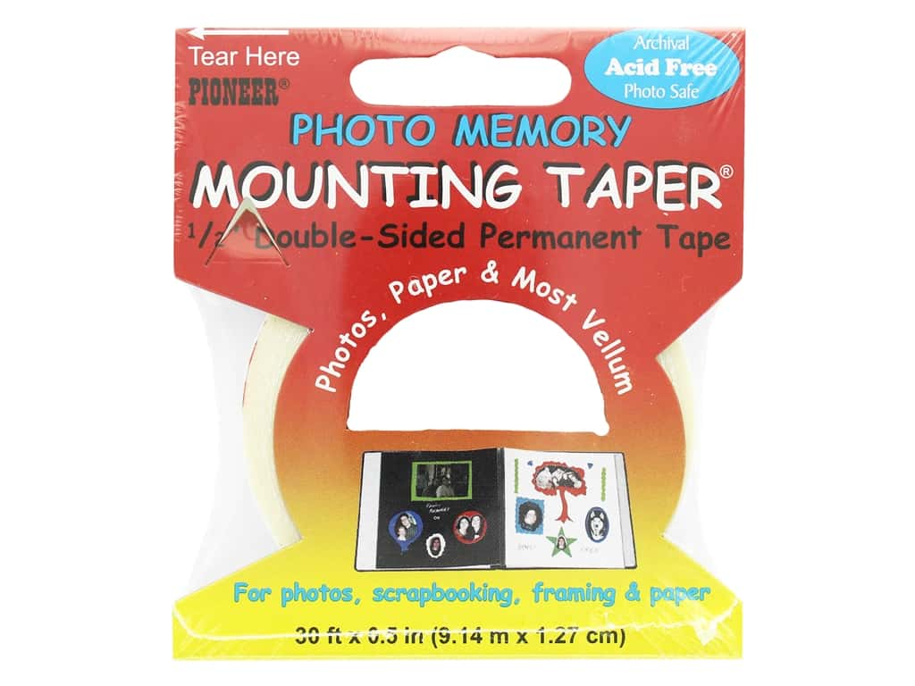 Pioneer Photo Memory Mounting Tape 1/2 in. x 30 ft.