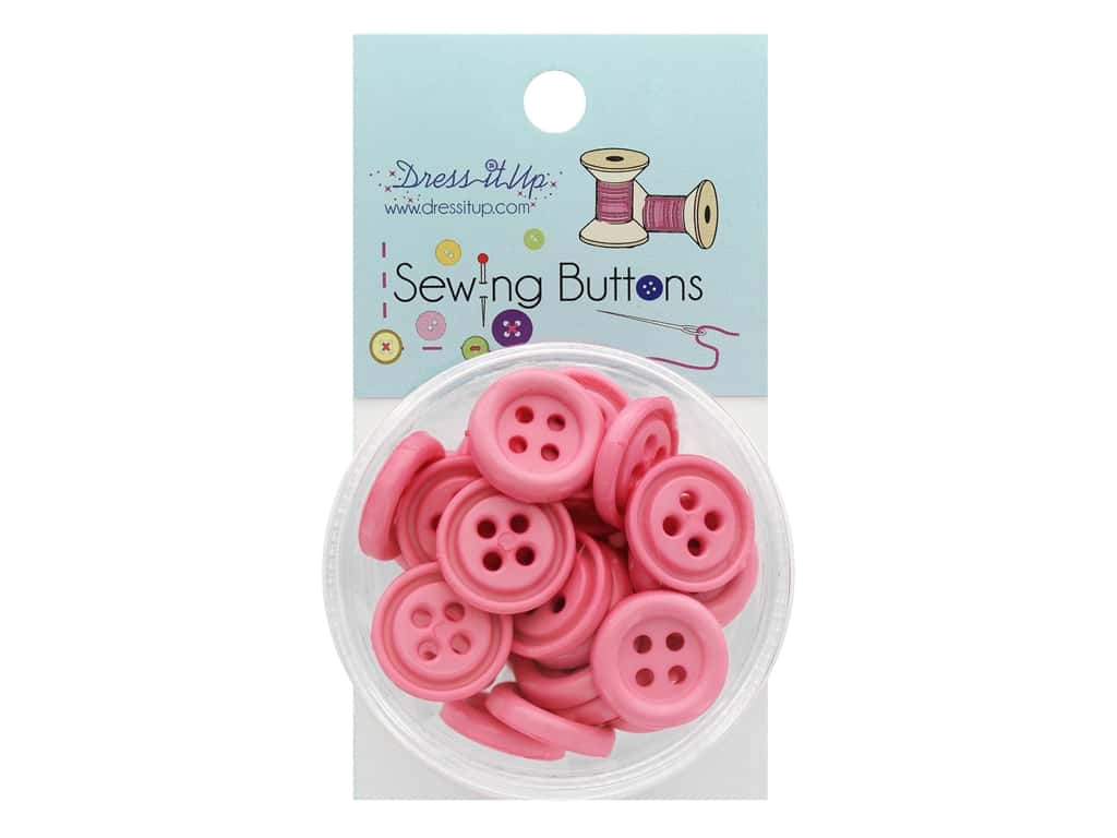 Jesse James Button Sewing 4 Hole Rose