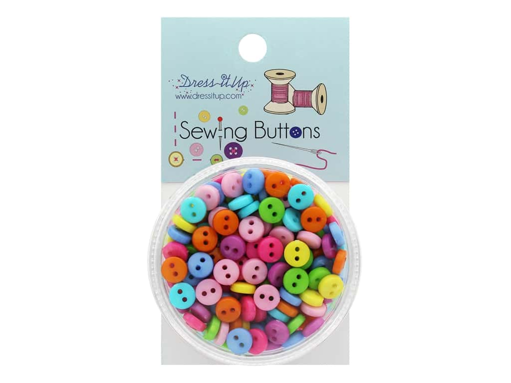 Jesse James Button Sewing 2 Hole Brights