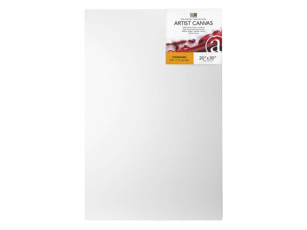 Art Advantage Artist Canvas 20 x 30 in.