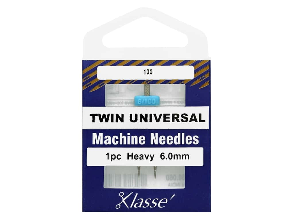 Klasse Machine Needle Twin Universal 6.0 mm/100 1 pc