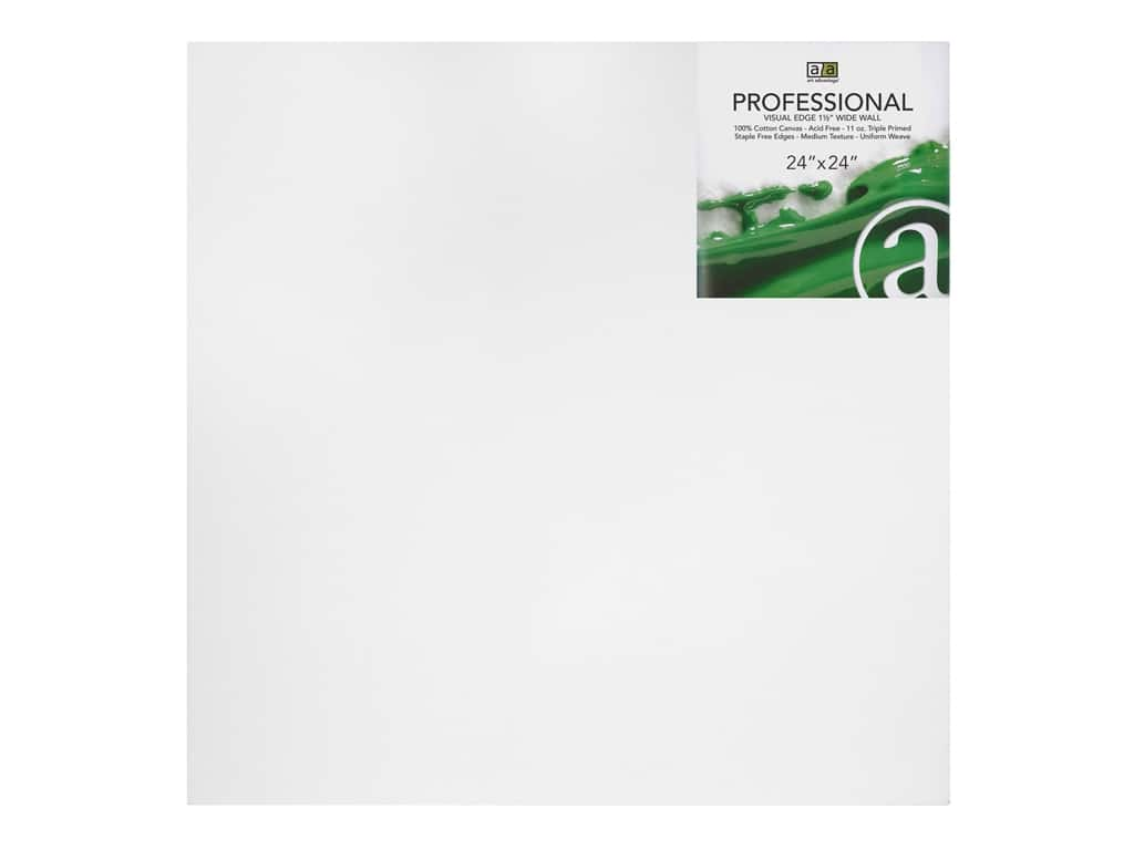 Art Advantage Professional Canvas 24 in. x 24 in. Wide Wall