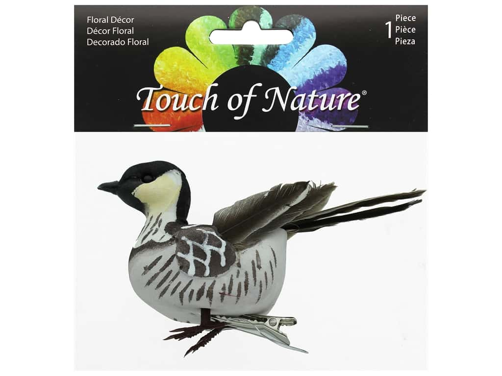 Midwest Design Birds 4 in. Nene With Feet Clip