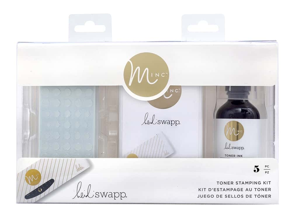 American Crafts Heidi Swapp Collection MINC Toner Stamping Kit 5 pc