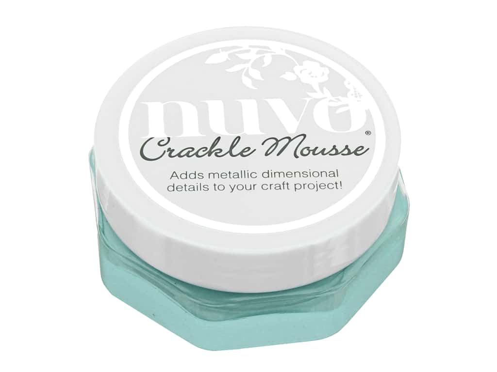 Nuvo Crackle Mousse Sweet Sorbet 2.2 oz Water Nymph