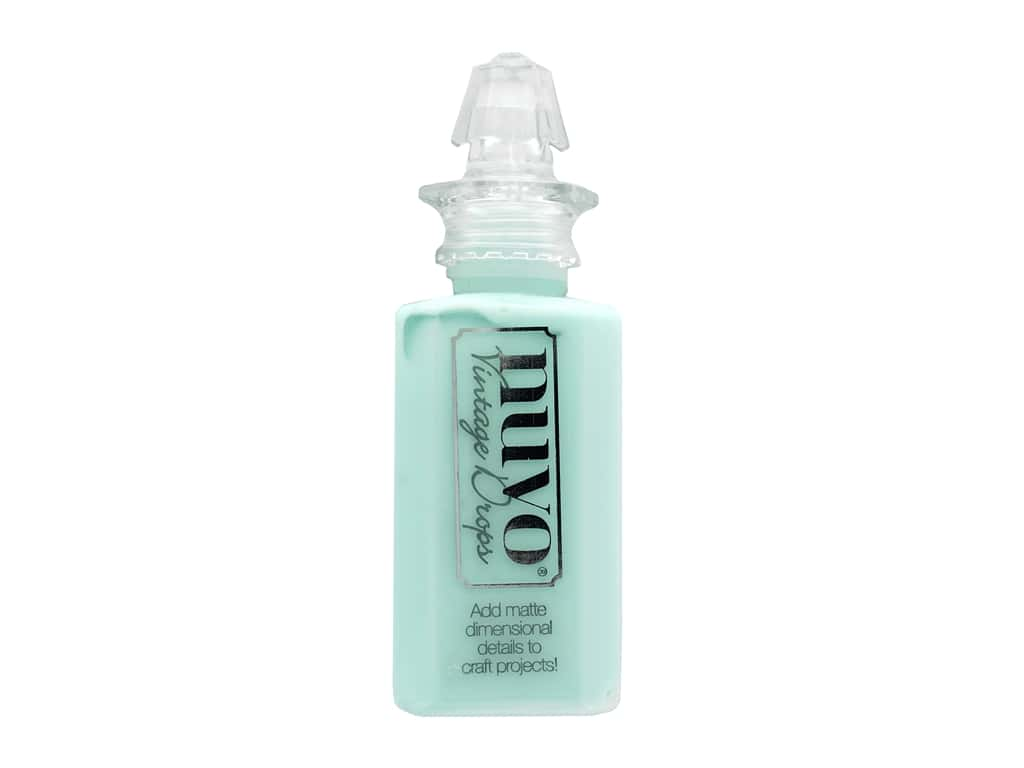 Nuvo 3D Drops Vintage Sweet Sorbet Peppermint Candy 1 oz
