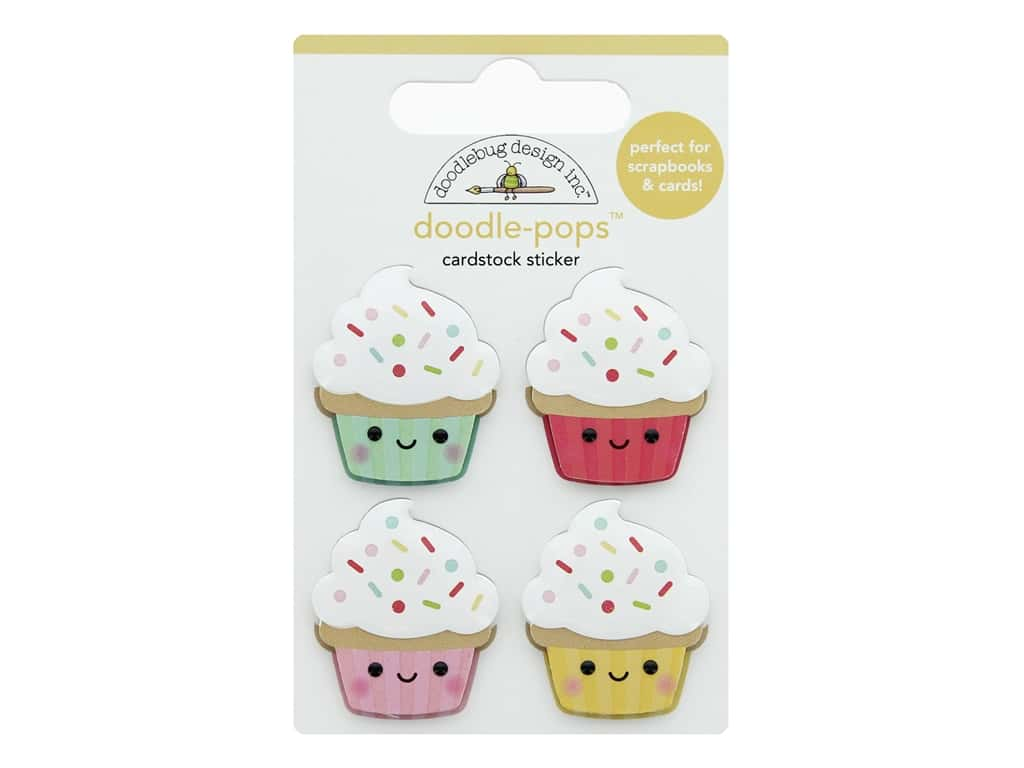Doodlebug Collection Made With Love Doodle Pops Baby Cakes
