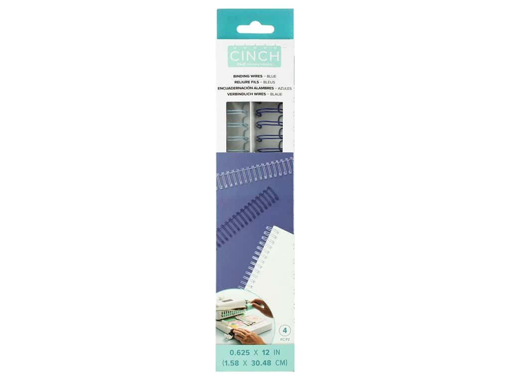 We R Memory Cinch Wire .625 in. Blue 4 pc