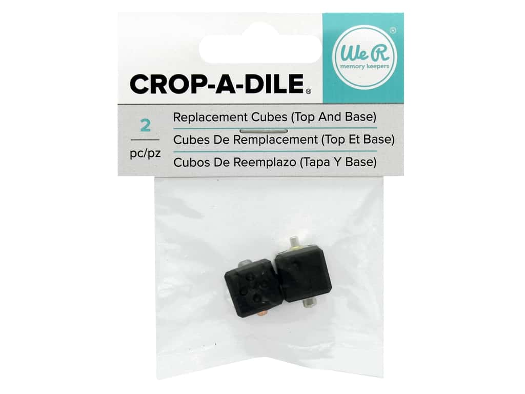 We R Memory Crop-A-Dile Replacement Cubes