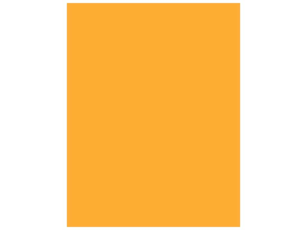 Paper Accents Cardstock 8 1/2 x 11 in. #120 Smooth Goldenrod 25 pc.