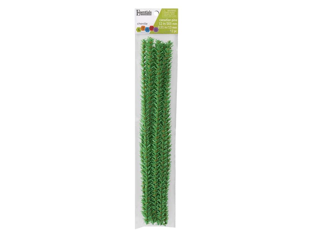 Essentials By Leisure Arts Canadian Pine Stems - 15 mm x 12 in. 12 pc.