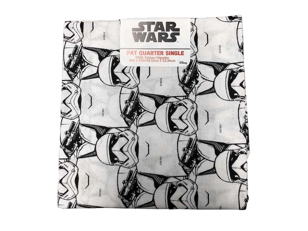 Star Wars  Cotton Fabric Fat Quarter - Storm Troopers 6 pc.