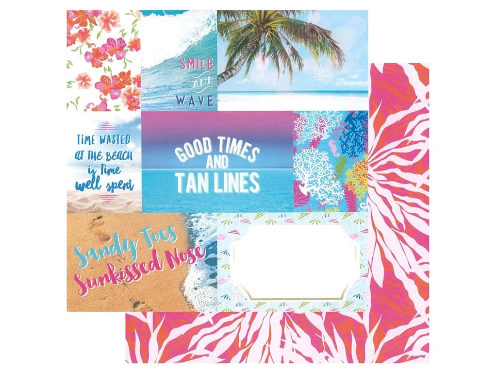 Paper House Paper 12 in. x 12 in. Paradise Found Tags (15 pieces)