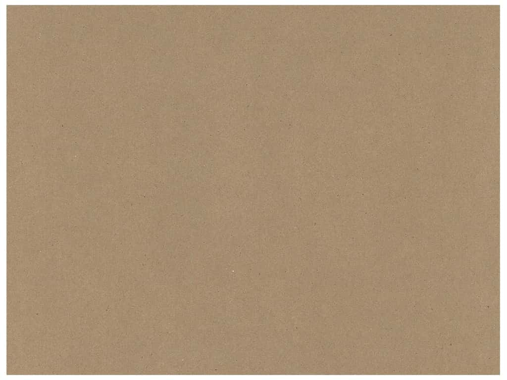 Paper Accents Chipboard 30 in. x 40 in. Heavy 60 pt 25 pc Natural