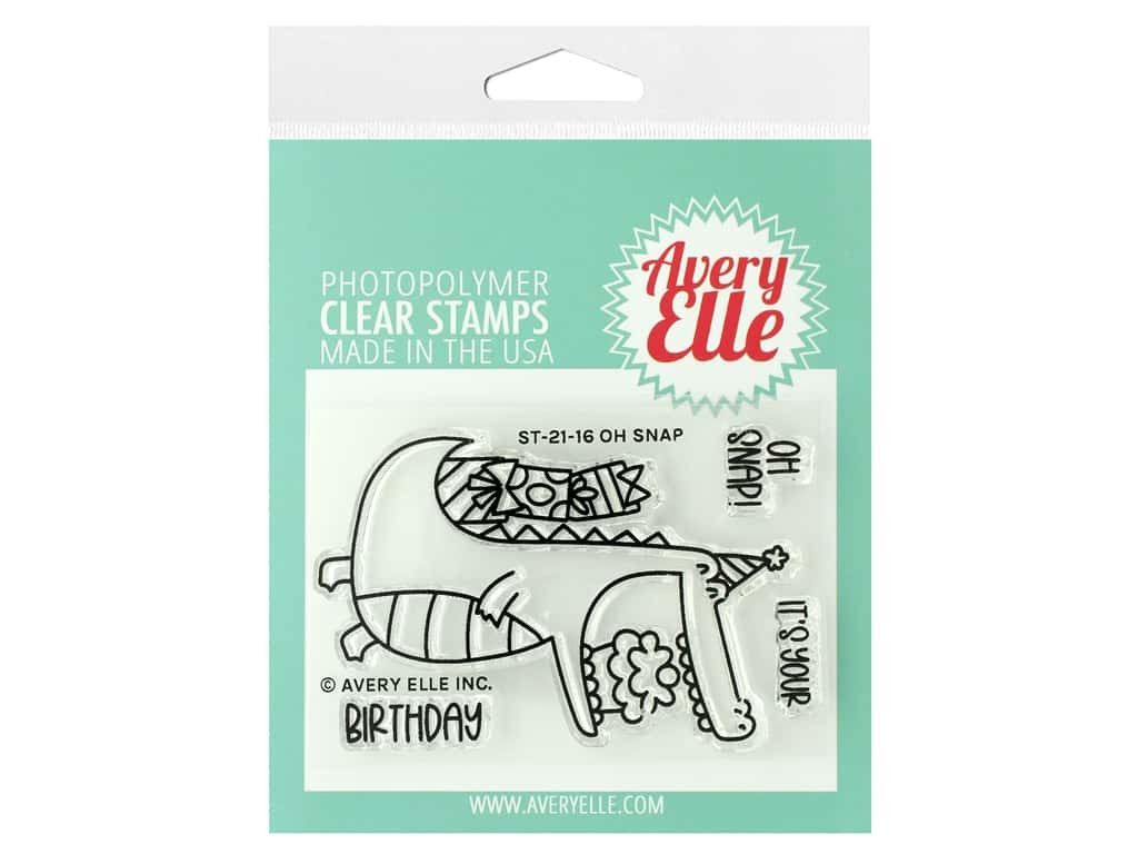 Avery Elle Clear Stamp Oh Snap