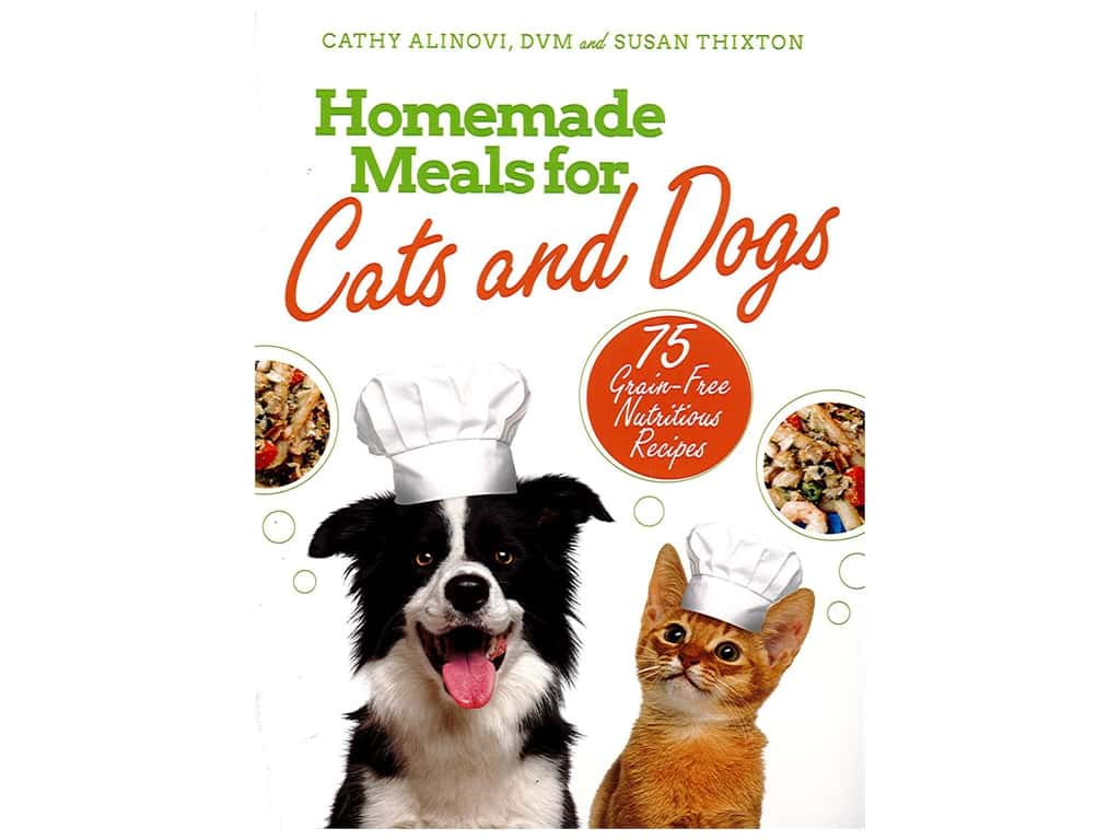 Skyhorse Publishing Homemade Meals For Cats and Dogs Book