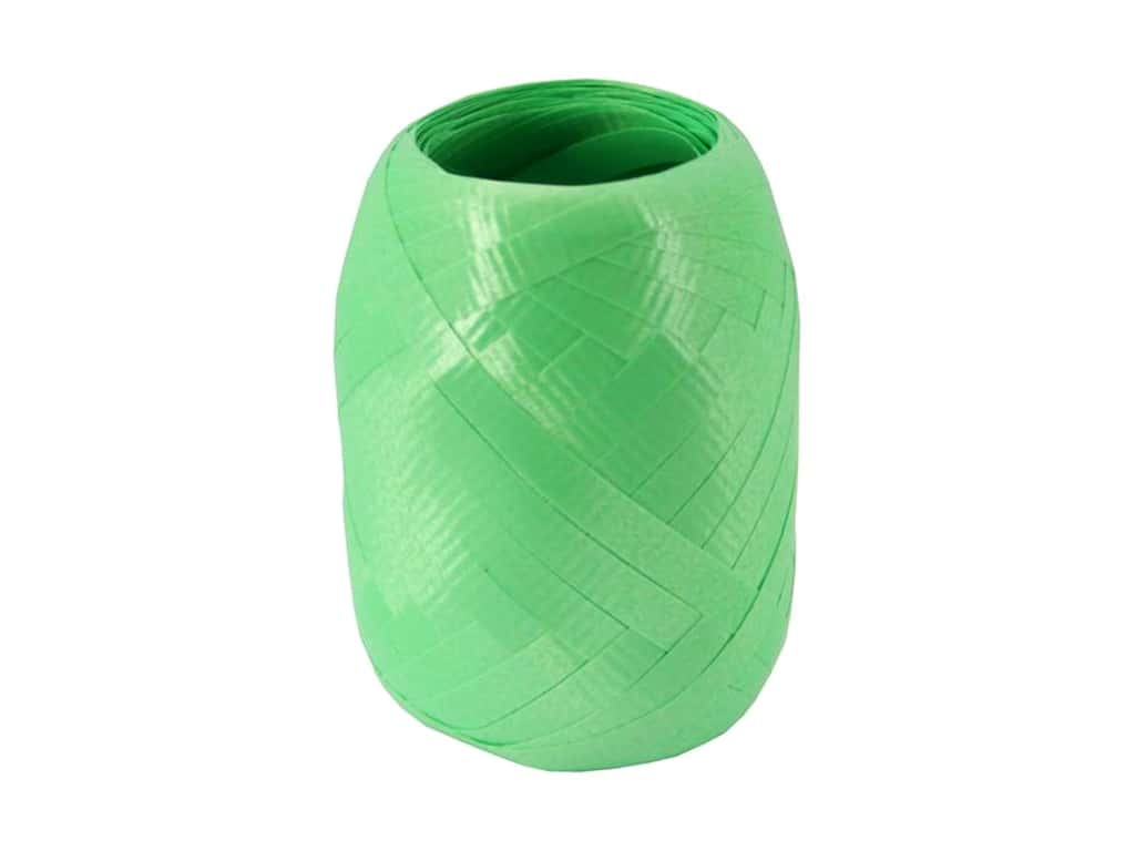 Offray Curling Ribbon Keg 3/16 in. x 40 ft. Crimped Citrus
