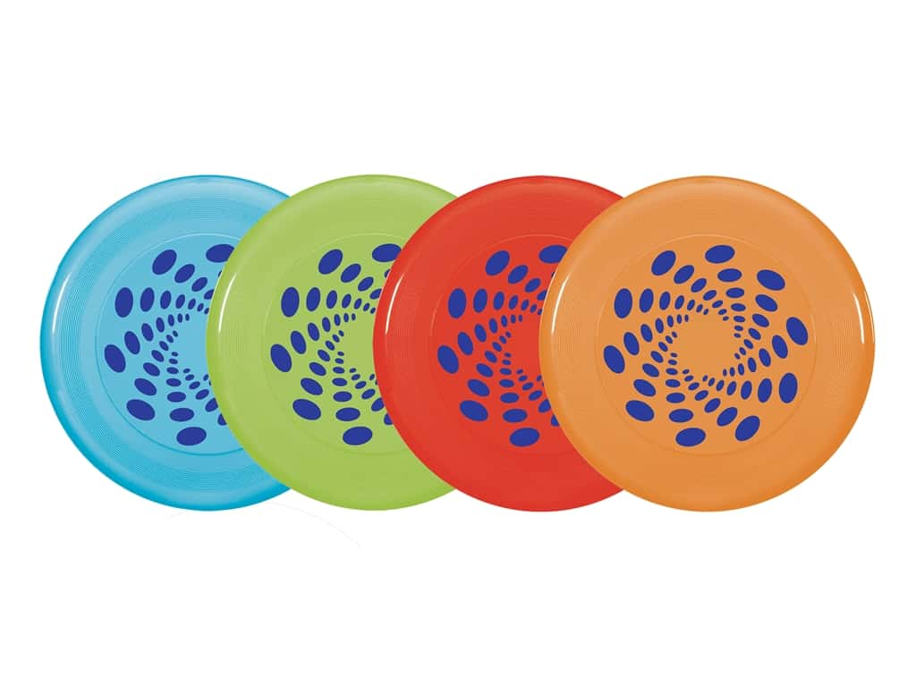 Amscan Collection Summer Luau Flying Disks 9 in.