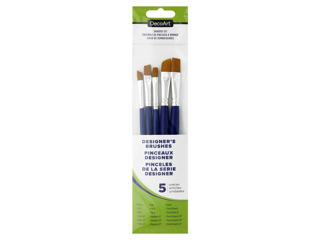 DecoArt Paint Brush Crafter's Shaders Set